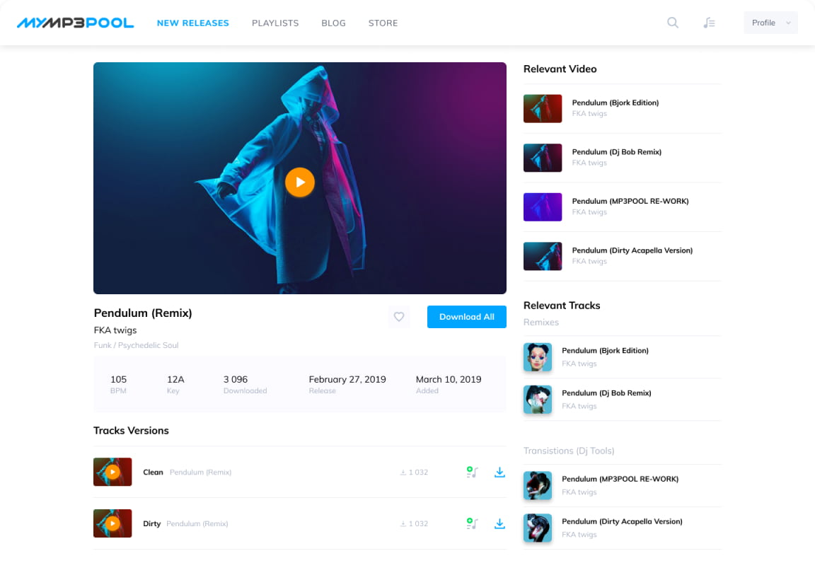 UI Video Page