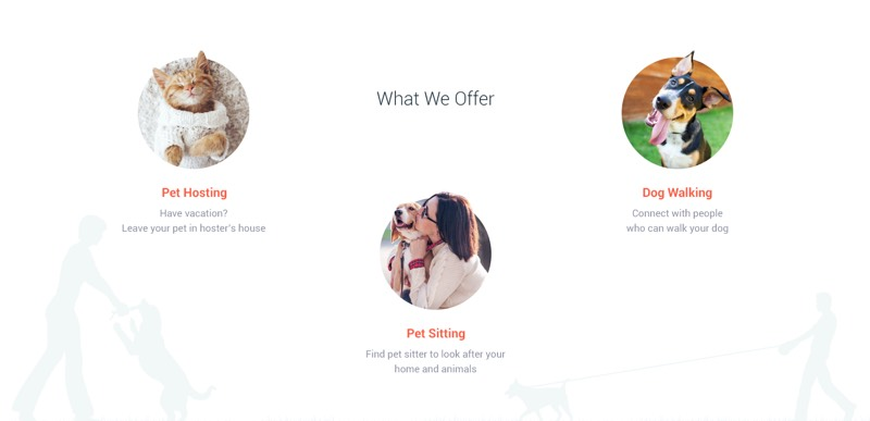 Flats For Pets offers 3 types of services to choose