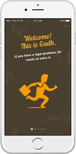 The Gadh application is for those who want to feel safe and secure all the time