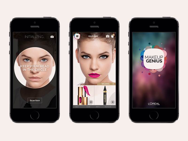 L'Oreal's Makeup Genius outrunning the competitors