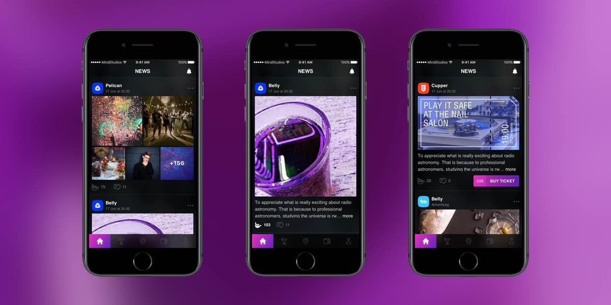 content segmentation in the app