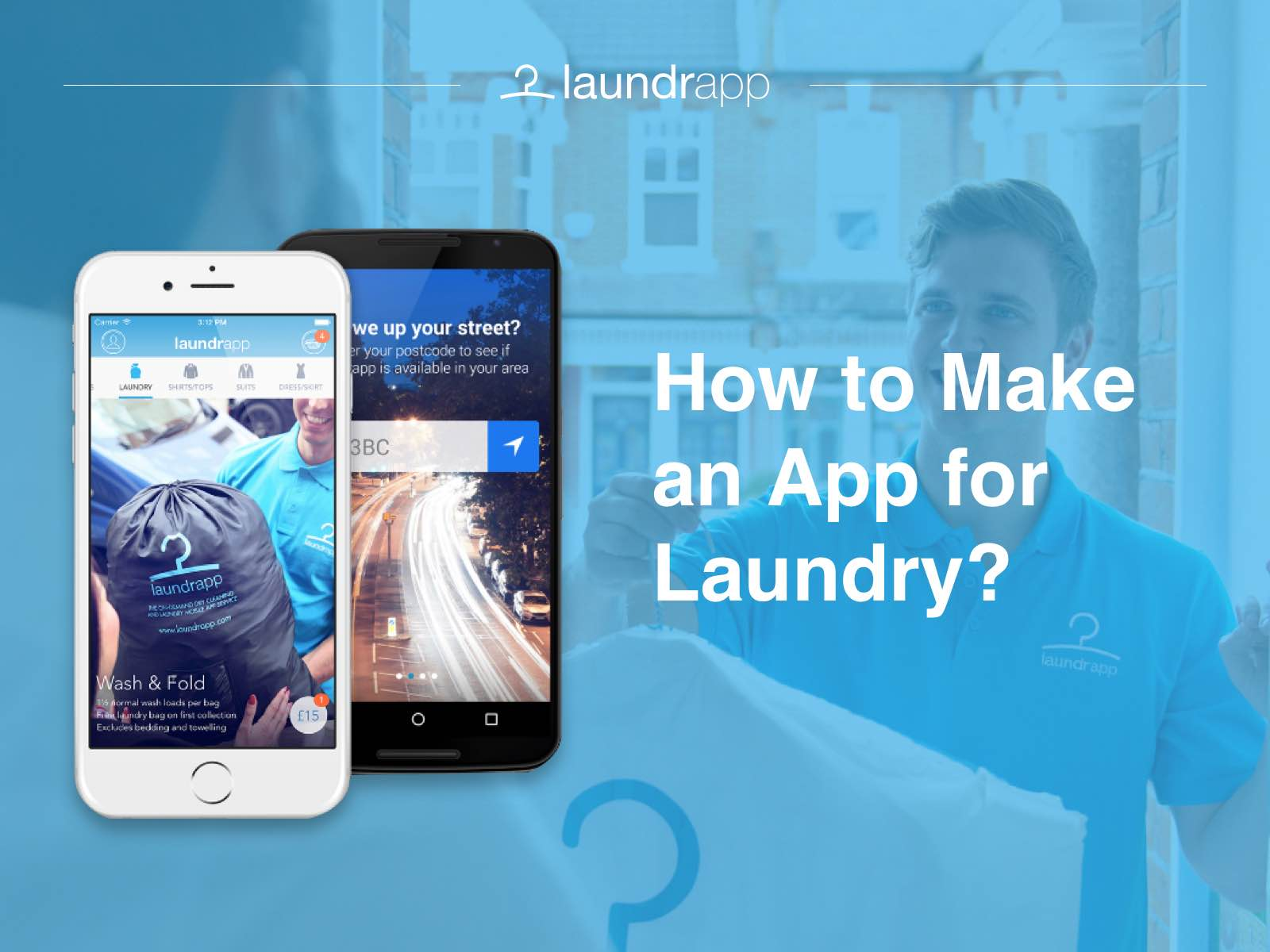 How To Make An App For Phones Laundry App Development How To Make An App
