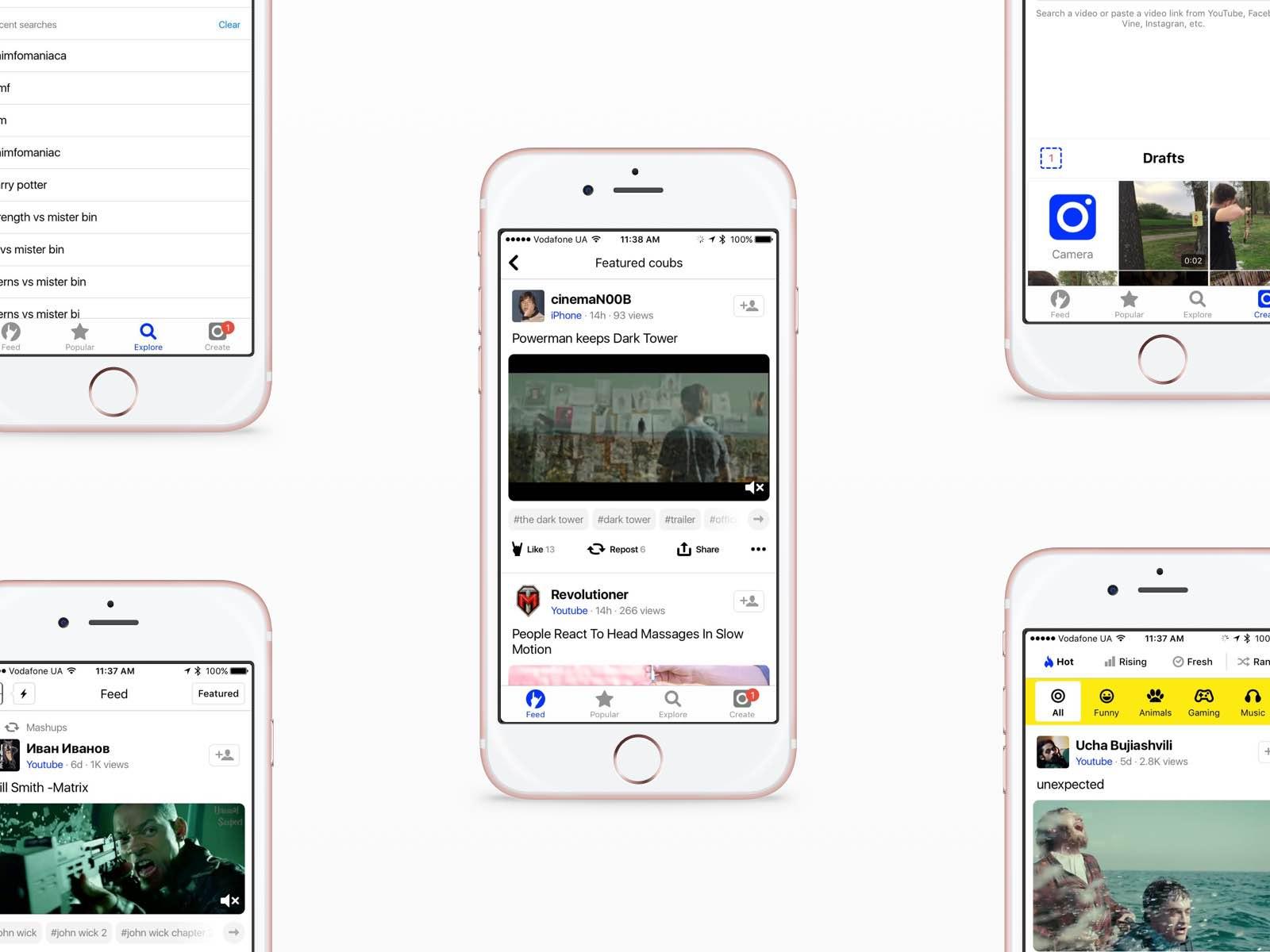 iOS design differences