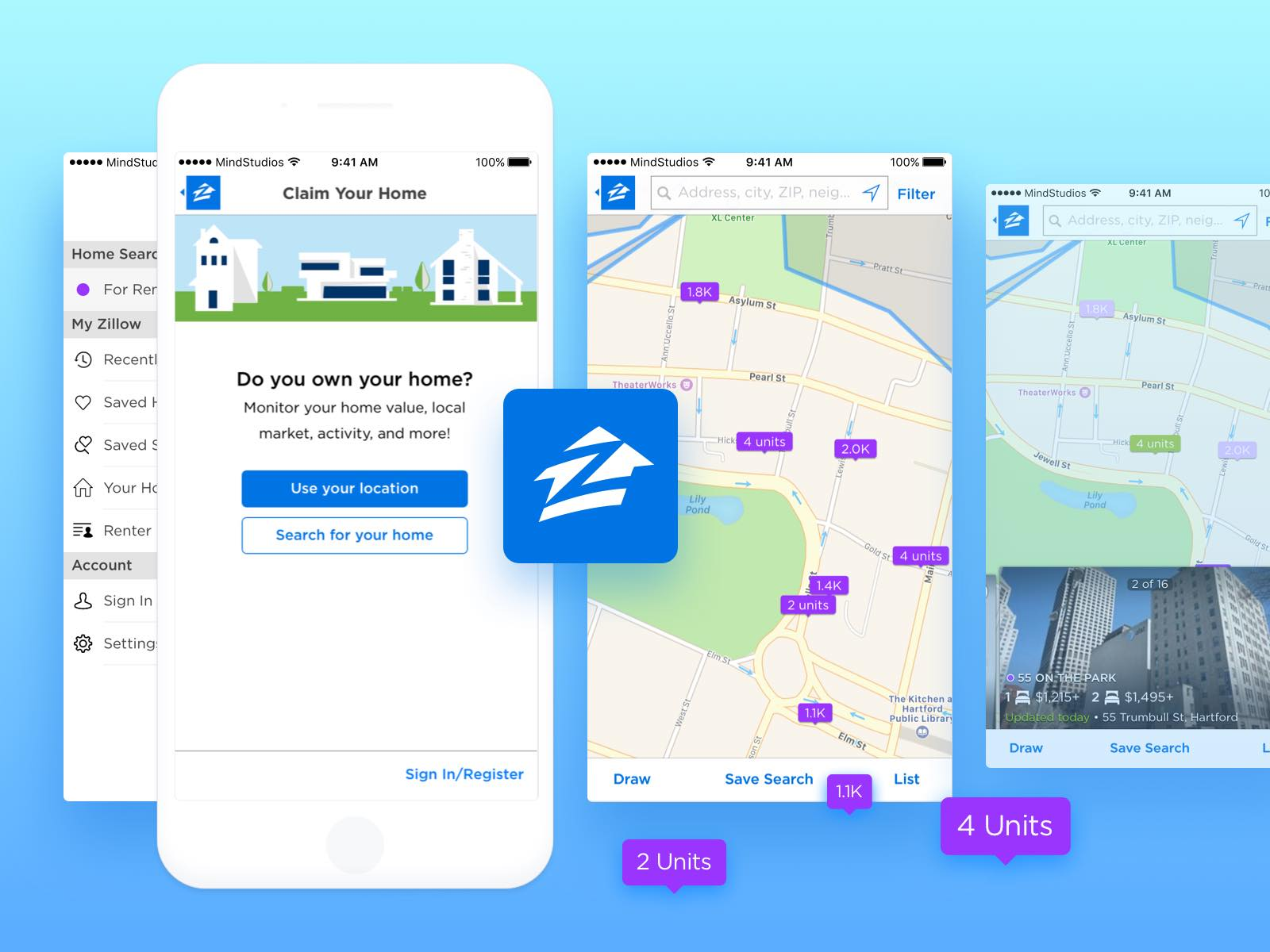 How to make a real estate app like zillow and trulia for Zillow site