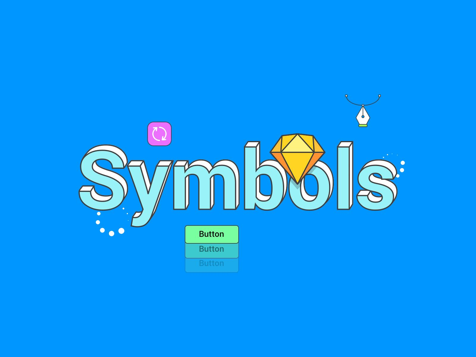 Sketch Nested Symbols: How to make them Custom?