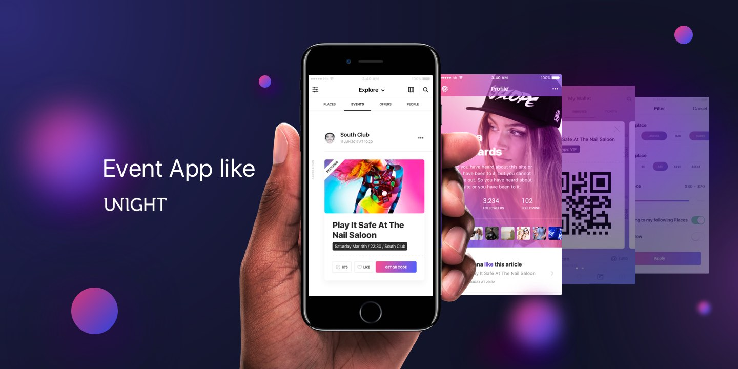 Nightlife Event App Development: How to Make Event App for NightClubs