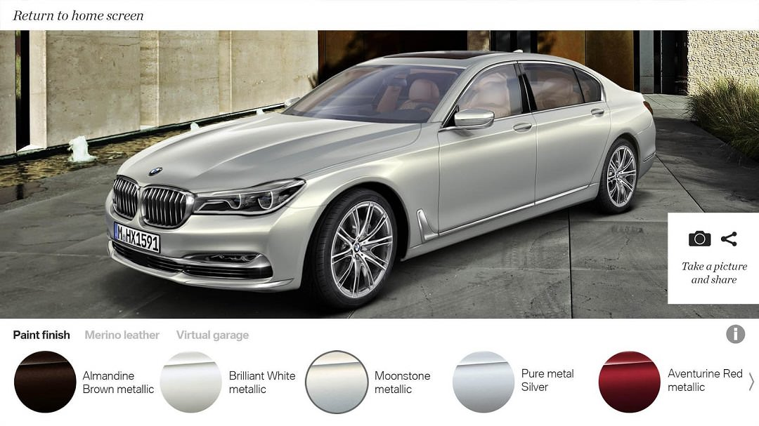 BMW Individual 7 - AR App