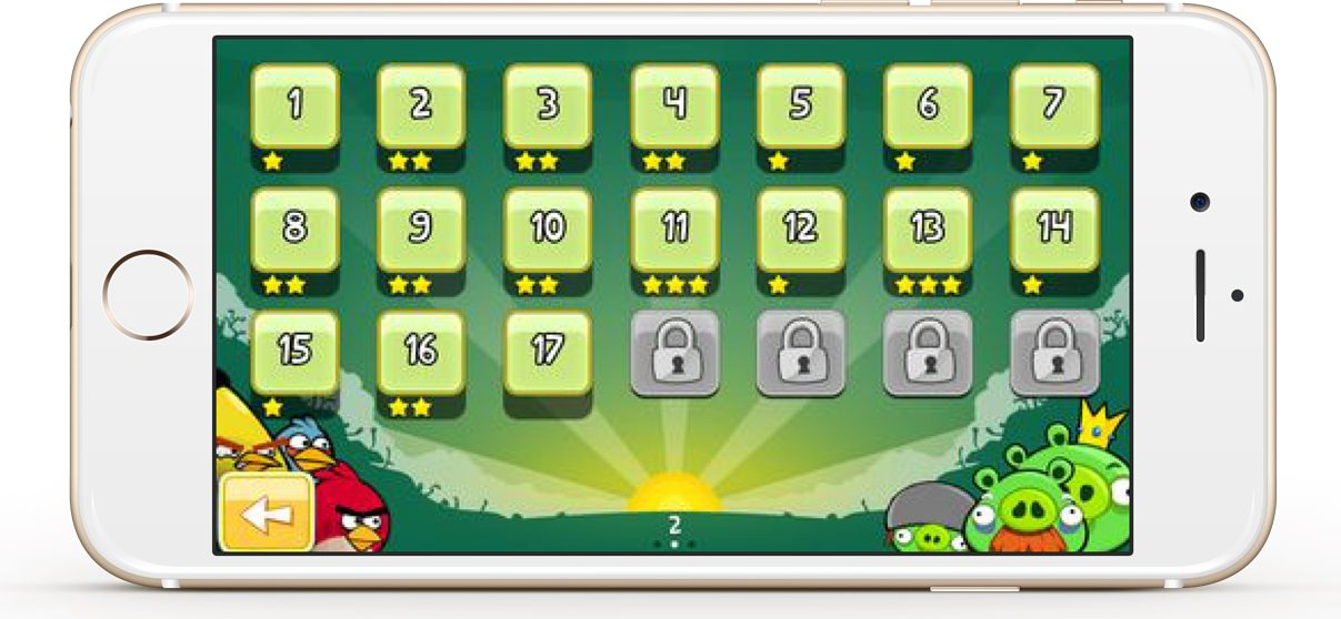 Angry Birds app is a good example of a freemium business model. It's users have to pay to unlock the levels in the game