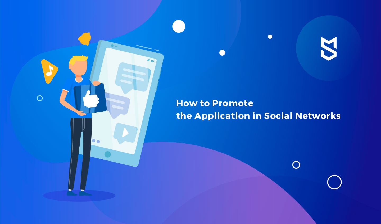 Promote your app on social networks
