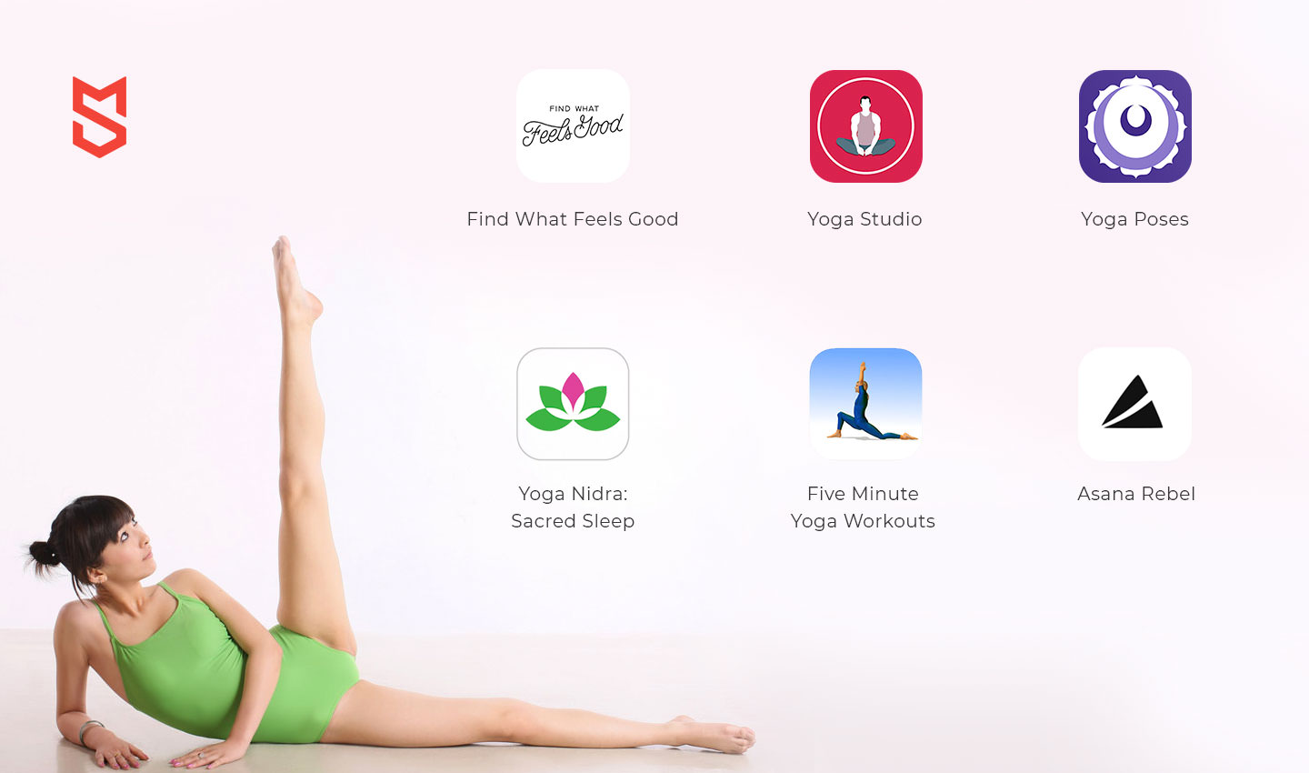 the most popular yoga apps