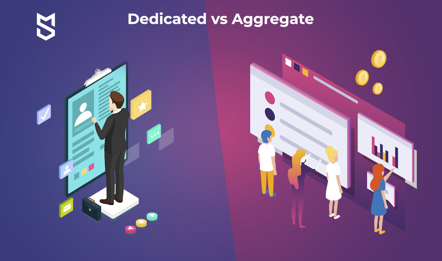 Dedicated vs Aggregate merchant account