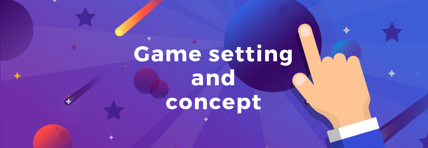 Game concept for clicker games