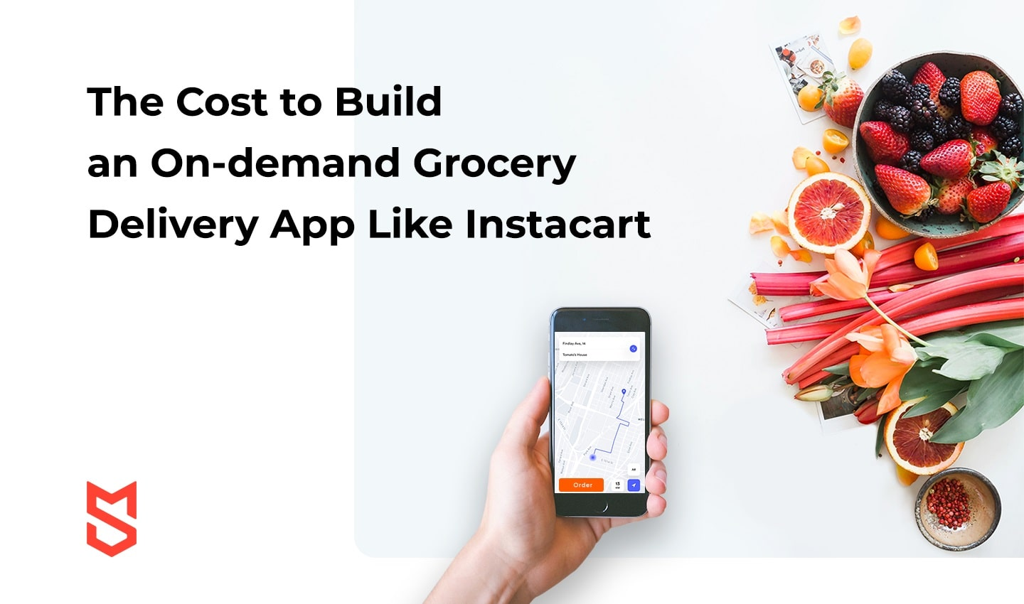 The Cost to Build an On-demand Grocery Delivery App Like Instacart