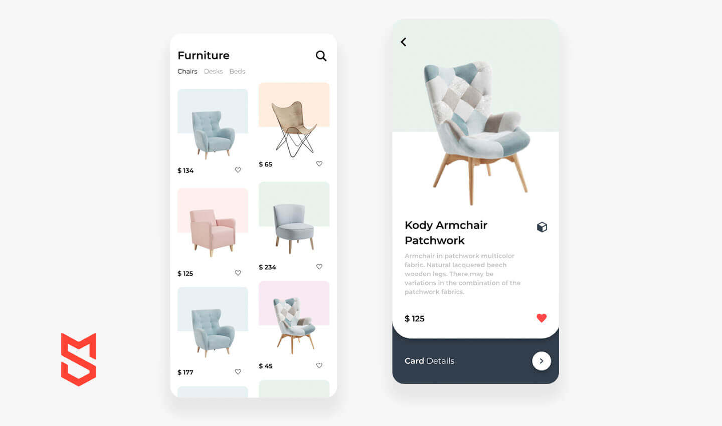 Features for AR app like IKEA Place
