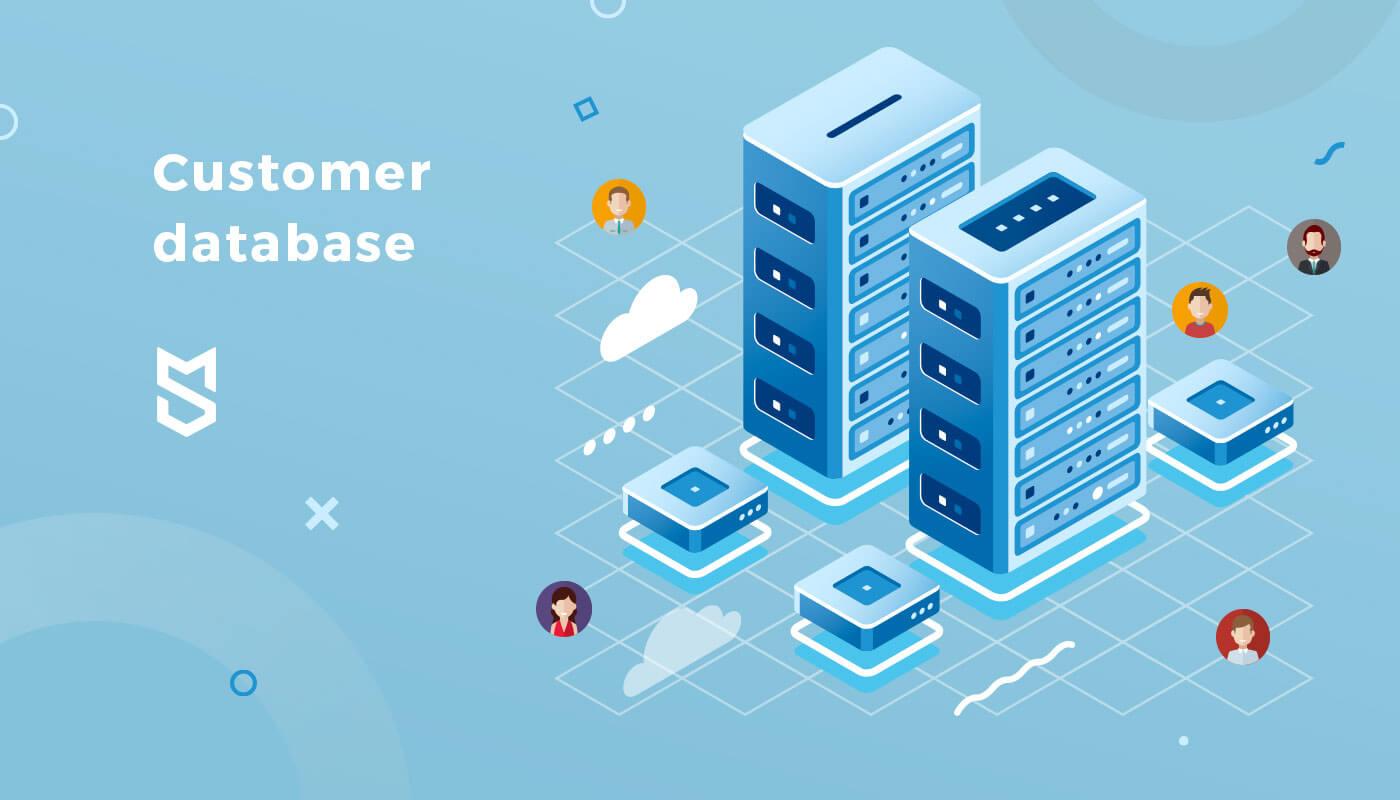 Customer database image