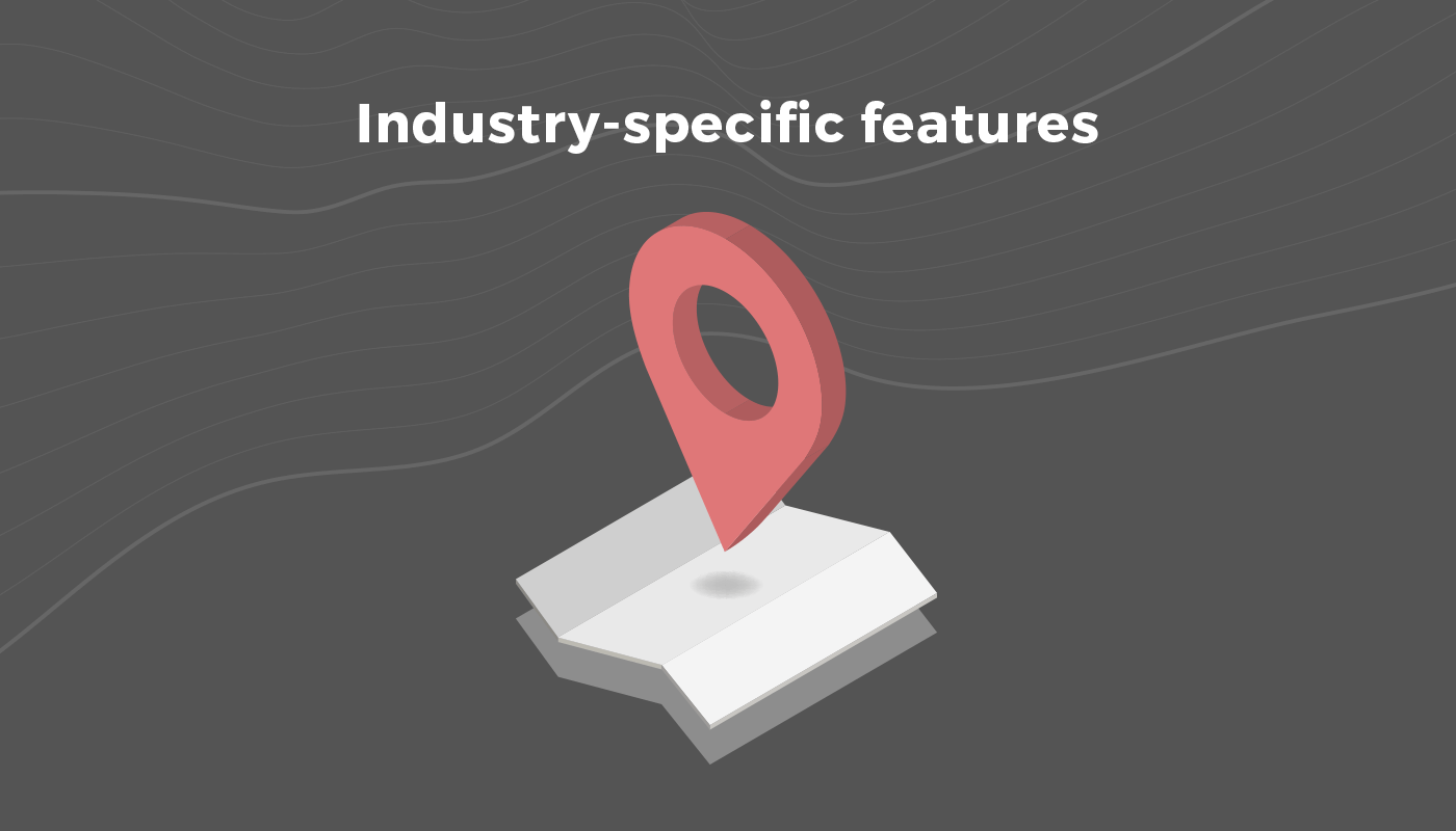 Industry-specific features
