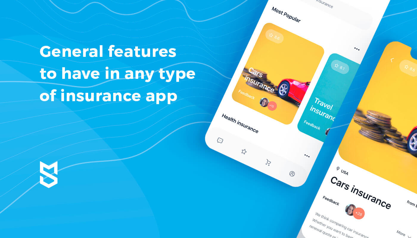 #General features for insurance app