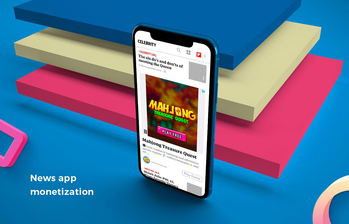 News app monetization