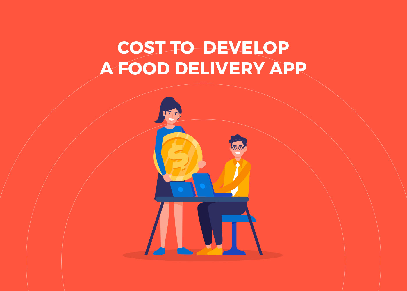 Cost to develop a food delivery app