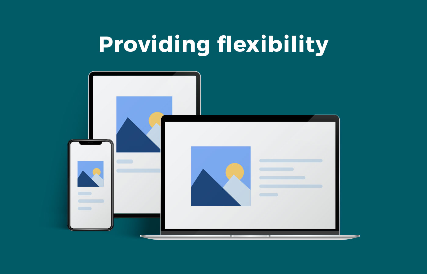 Provide flexibility for website