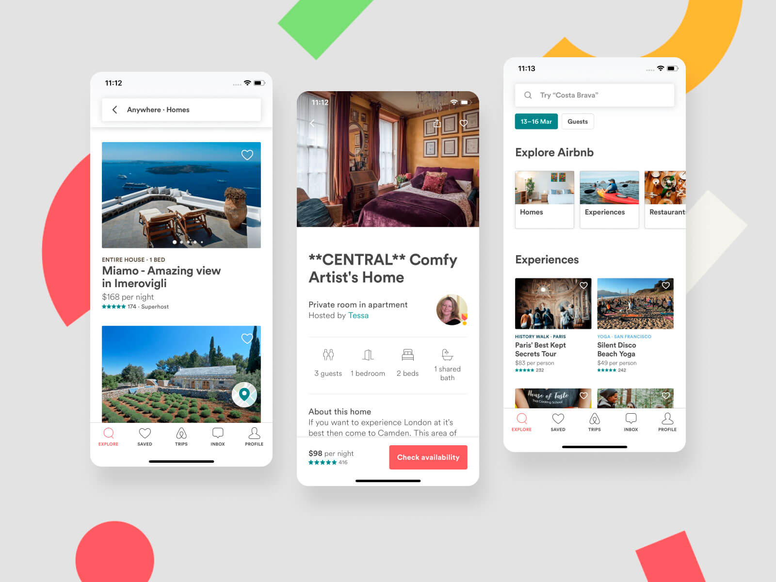 Airbnb like app
