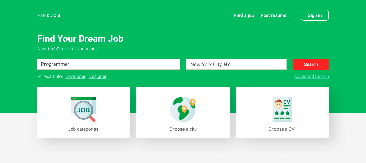 How to create a job board website