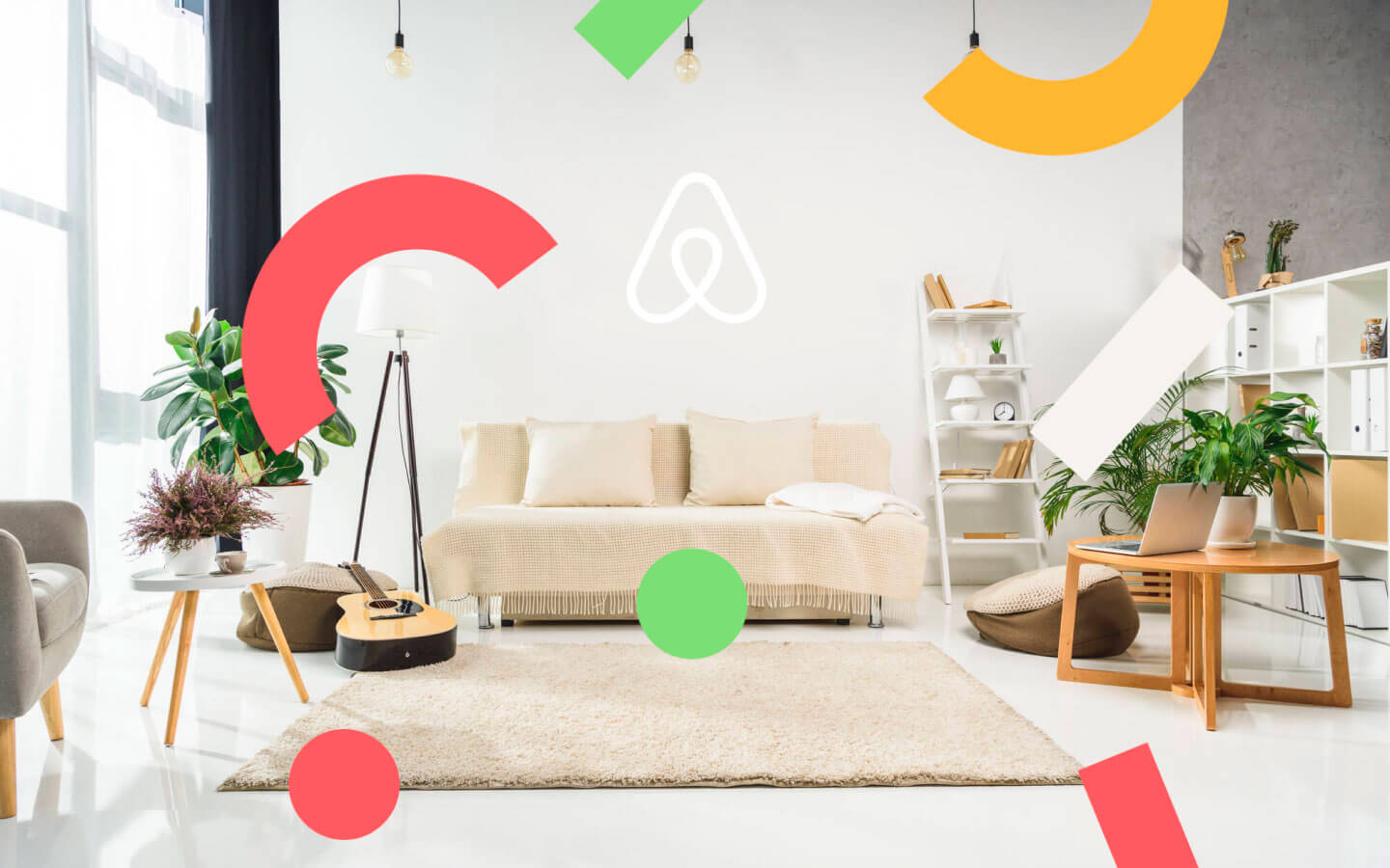 Guest and host Airbnb's profiles