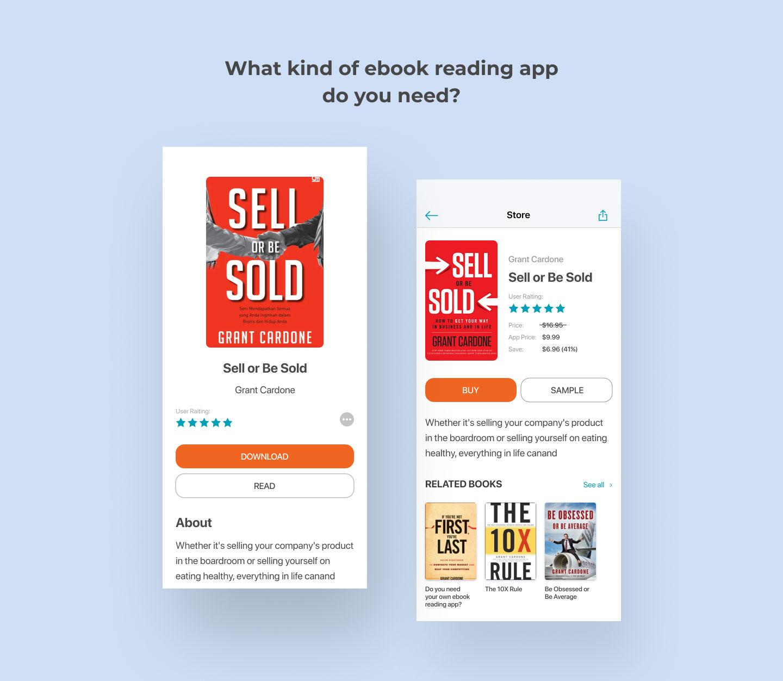 ebook reading app types