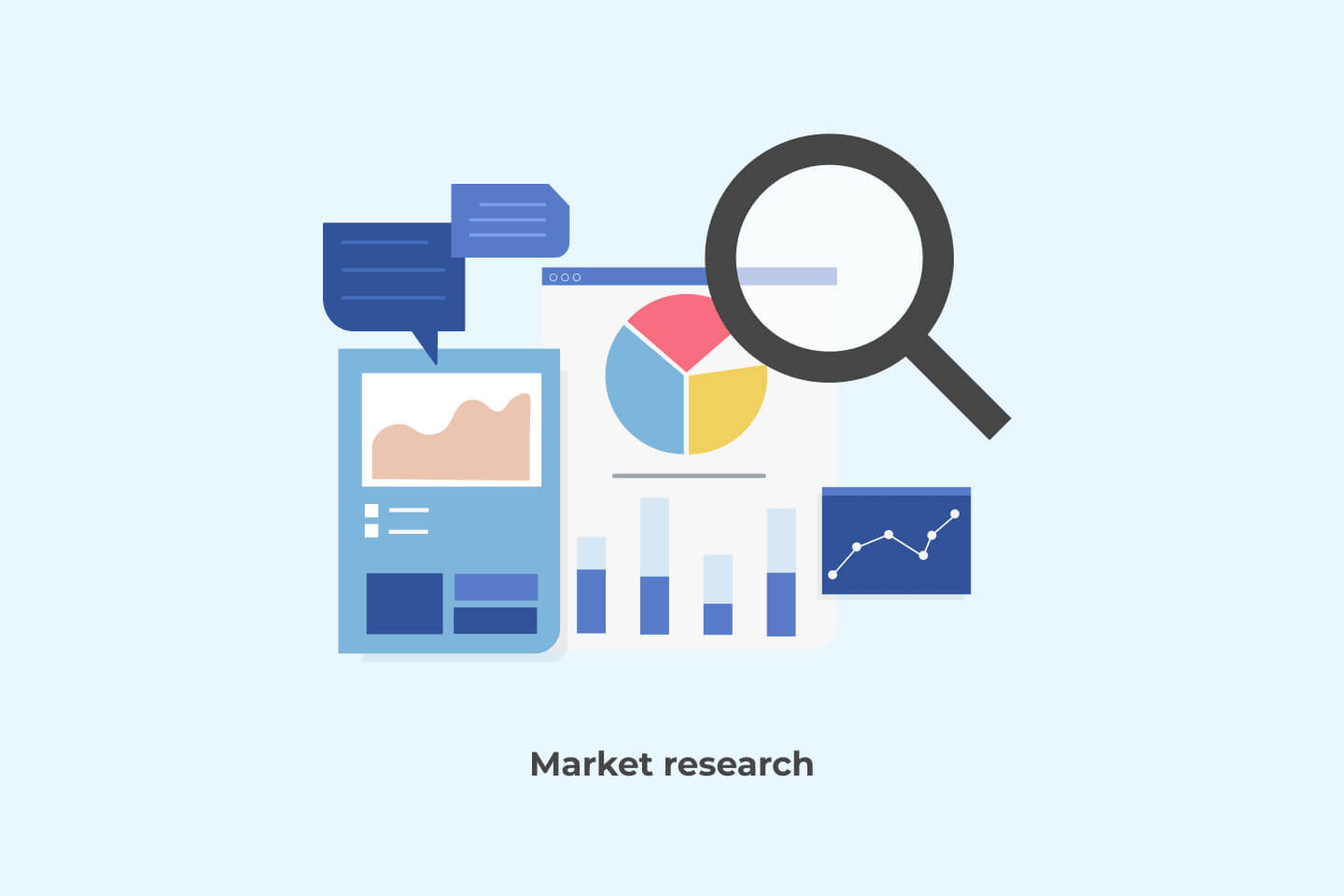 Market research for marketplace app