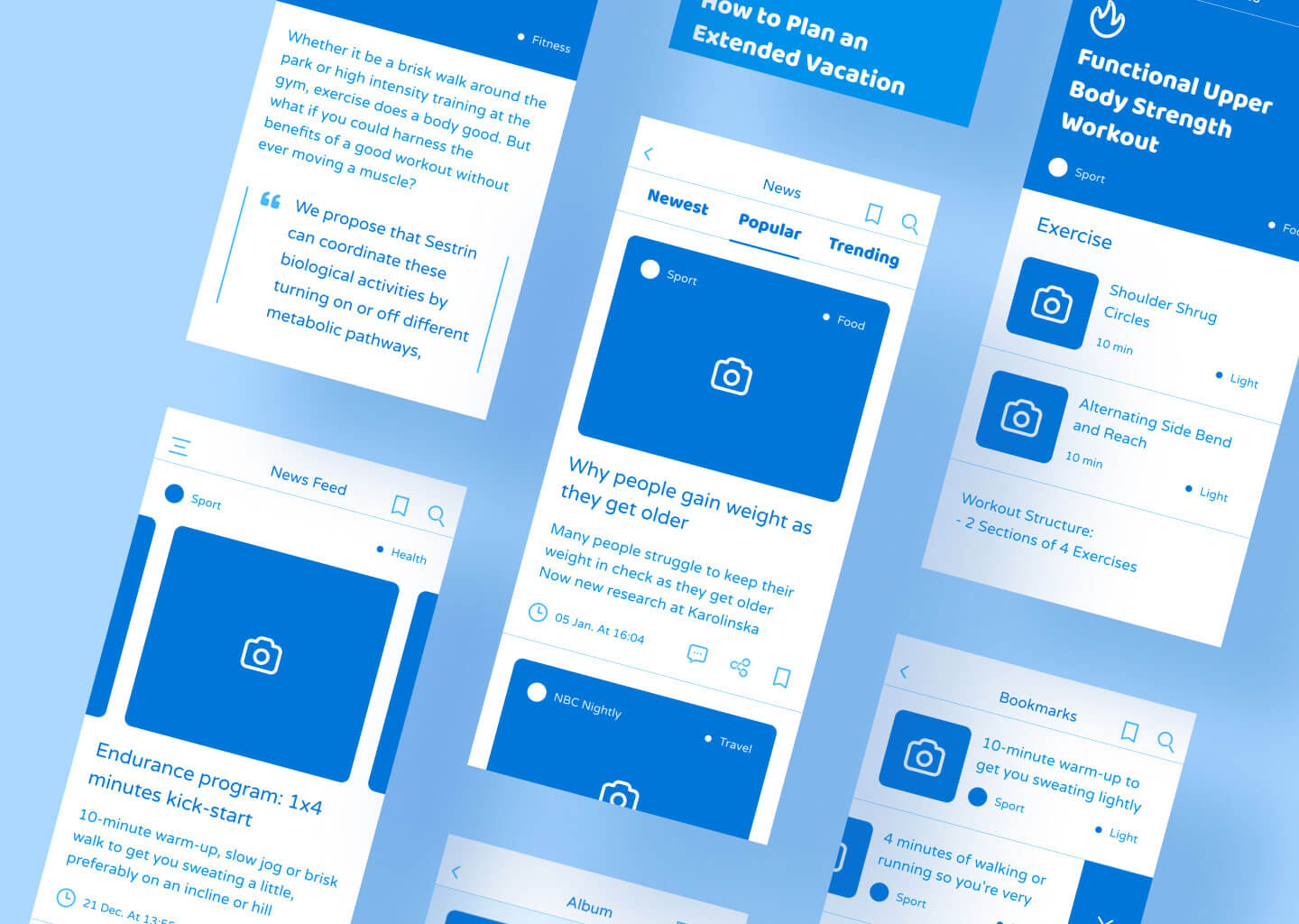 Low-fidelity Prototyping for mobile app