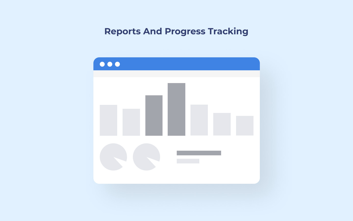 Reports and progress tracking