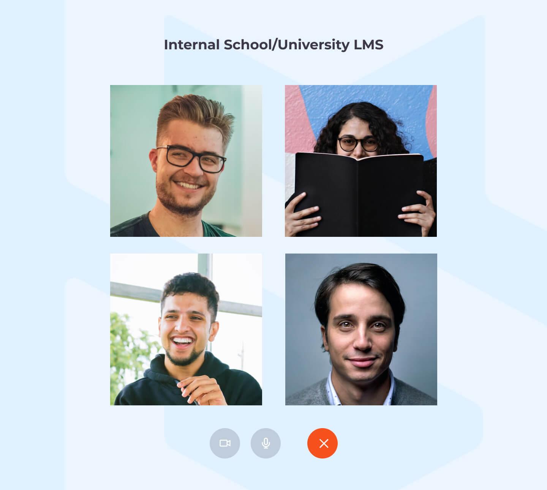 Internal school/university LMS