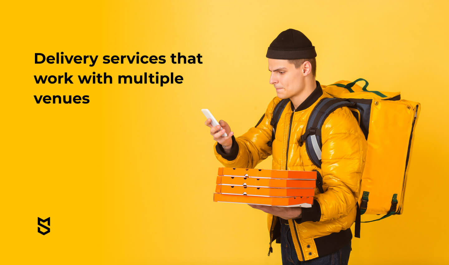 Delivery services that work with multiple venues