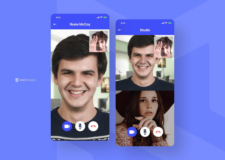 Mobile video calls