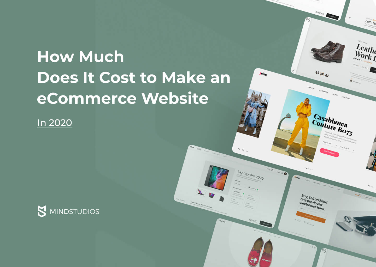 How Much Does It Cost to Make an Ecommerce Website in 2020?