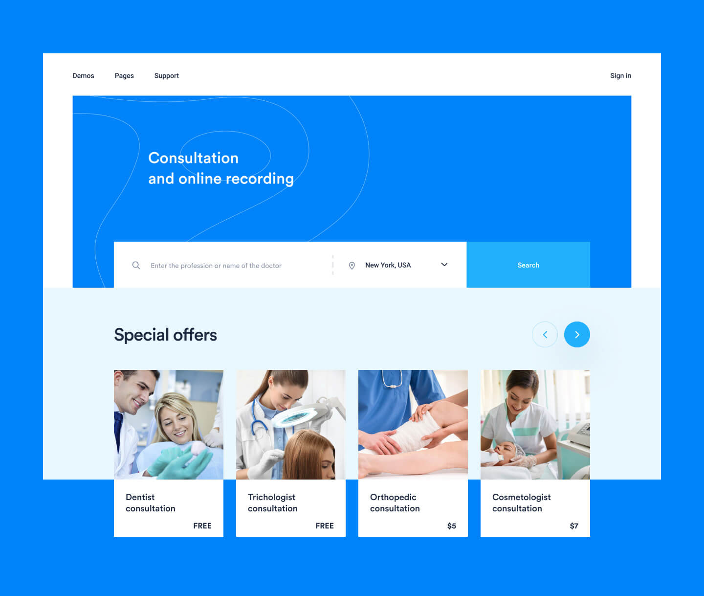 telemedicine platform example