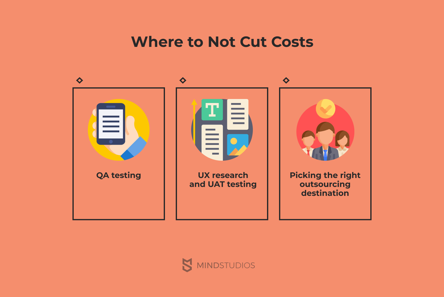 Where to not cut costs