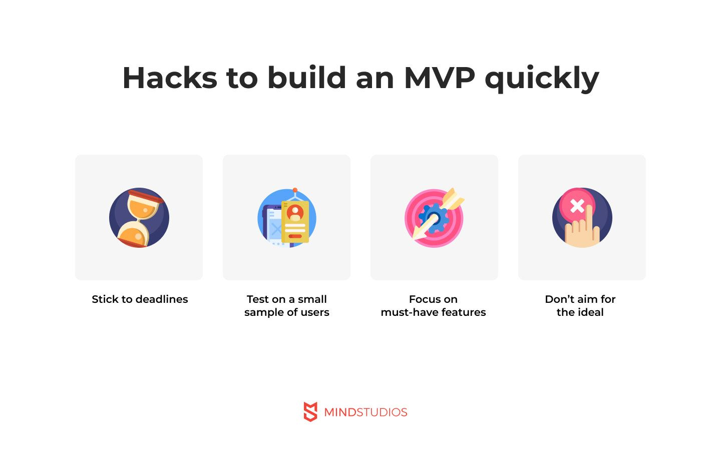 Hacks to build an MVP quickly
