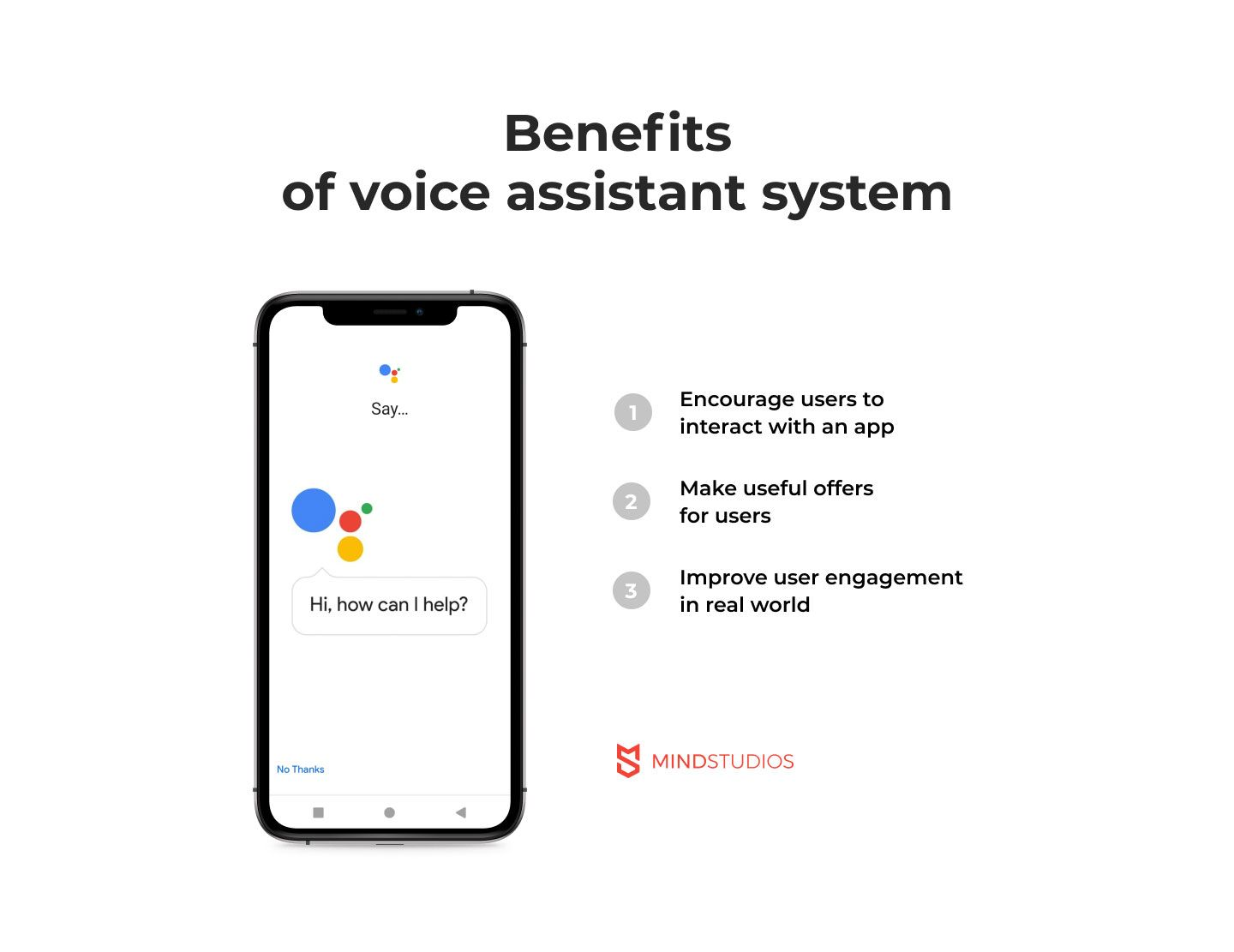 Voice assistant system benefits