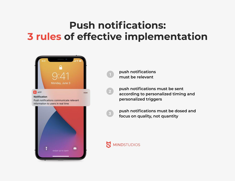 Push notifications