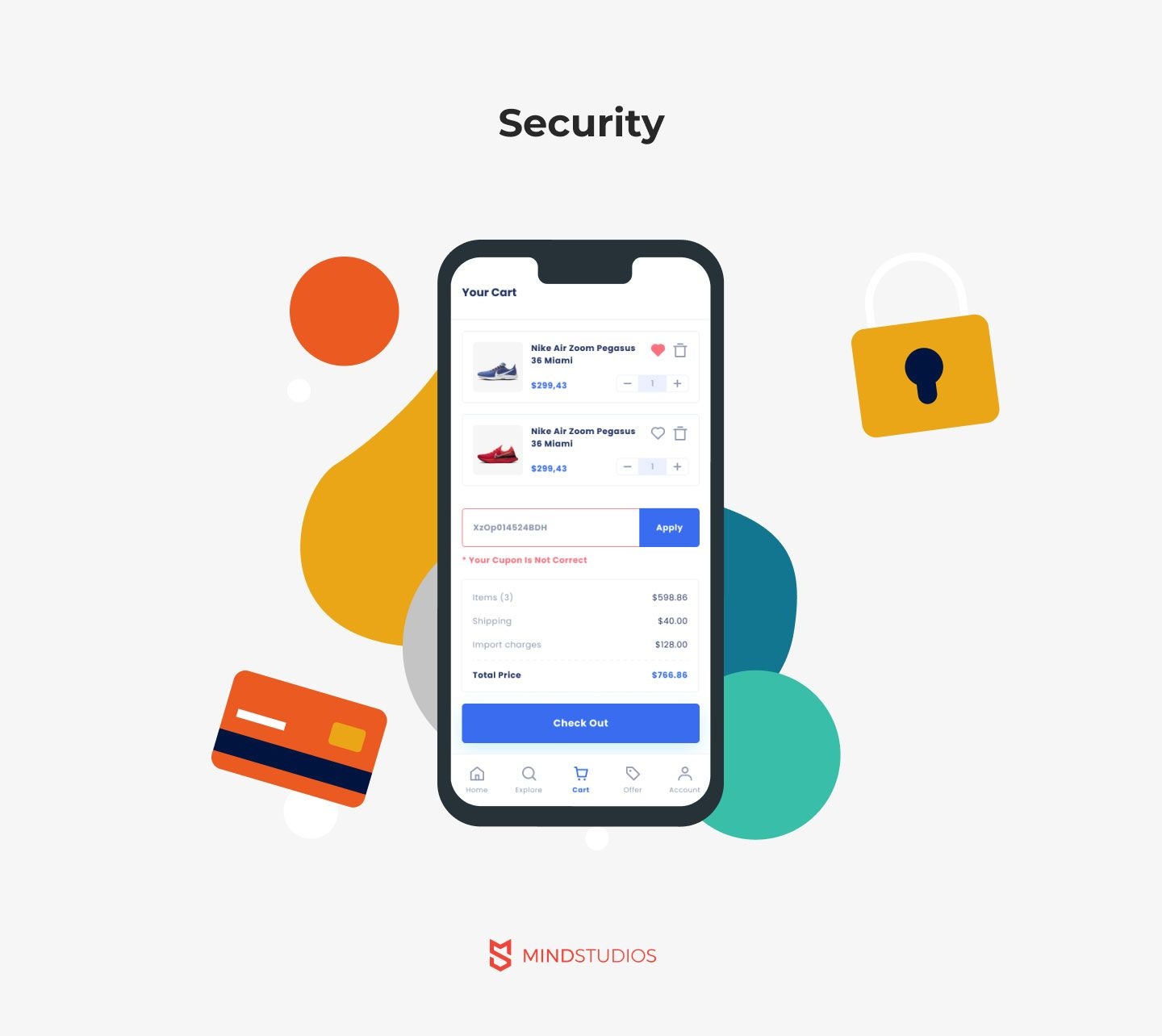 Security for m-commerce app