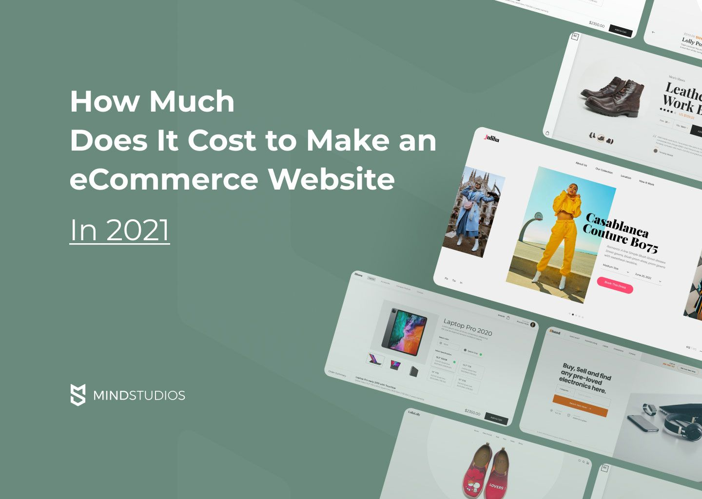 How Much Does It Cost to Make an Ecommerce Website in 2021?