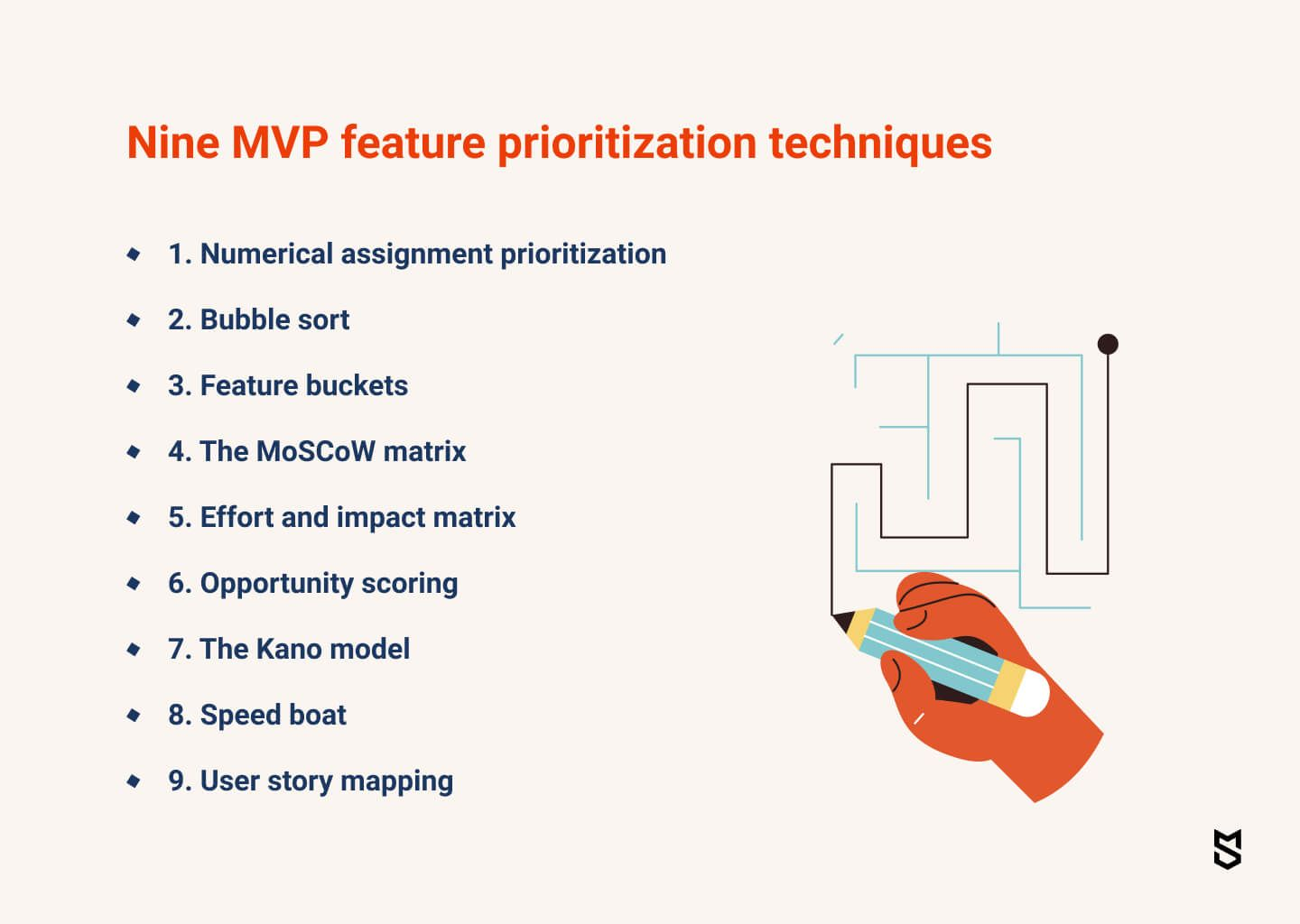 9 MVP feature prioritization techniques