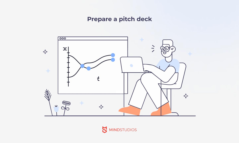 Prepare a pitch deck