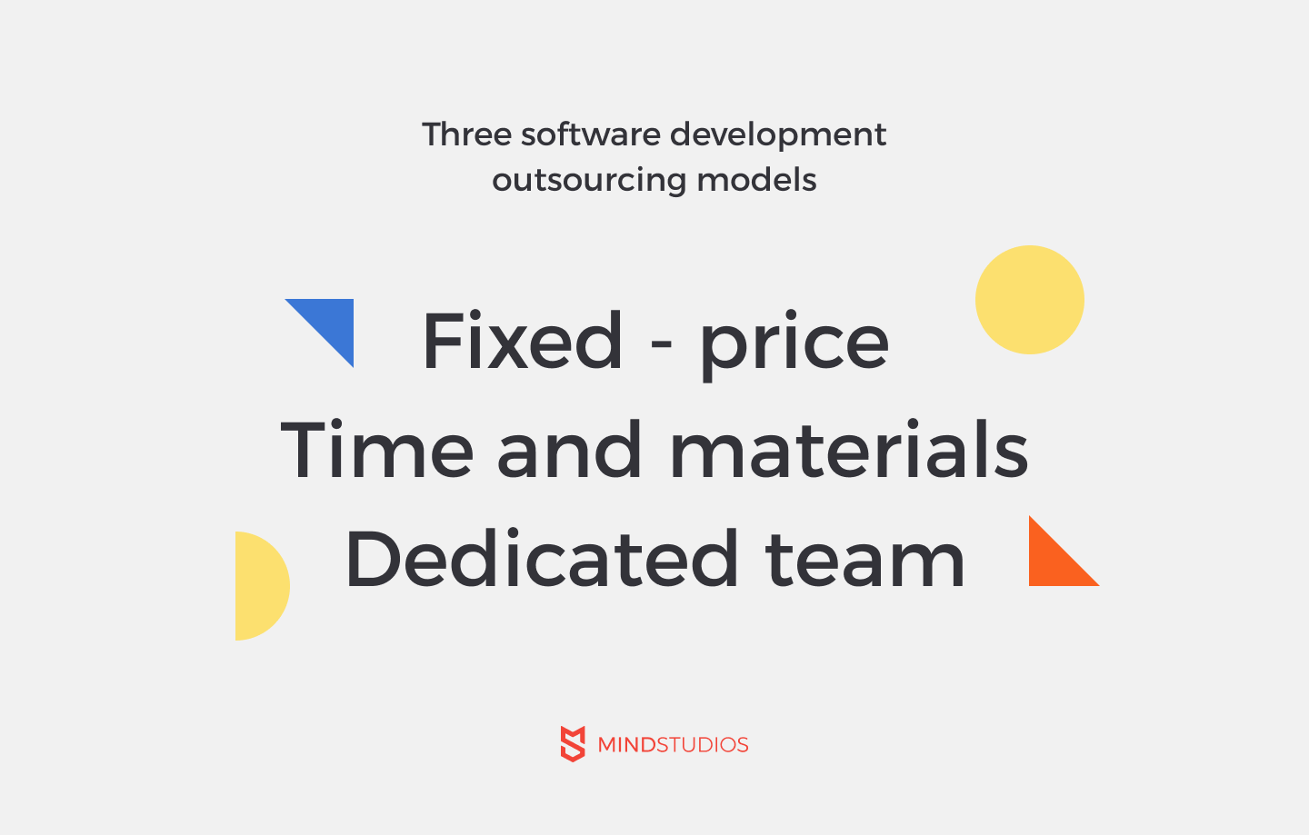 software development outsourcing models