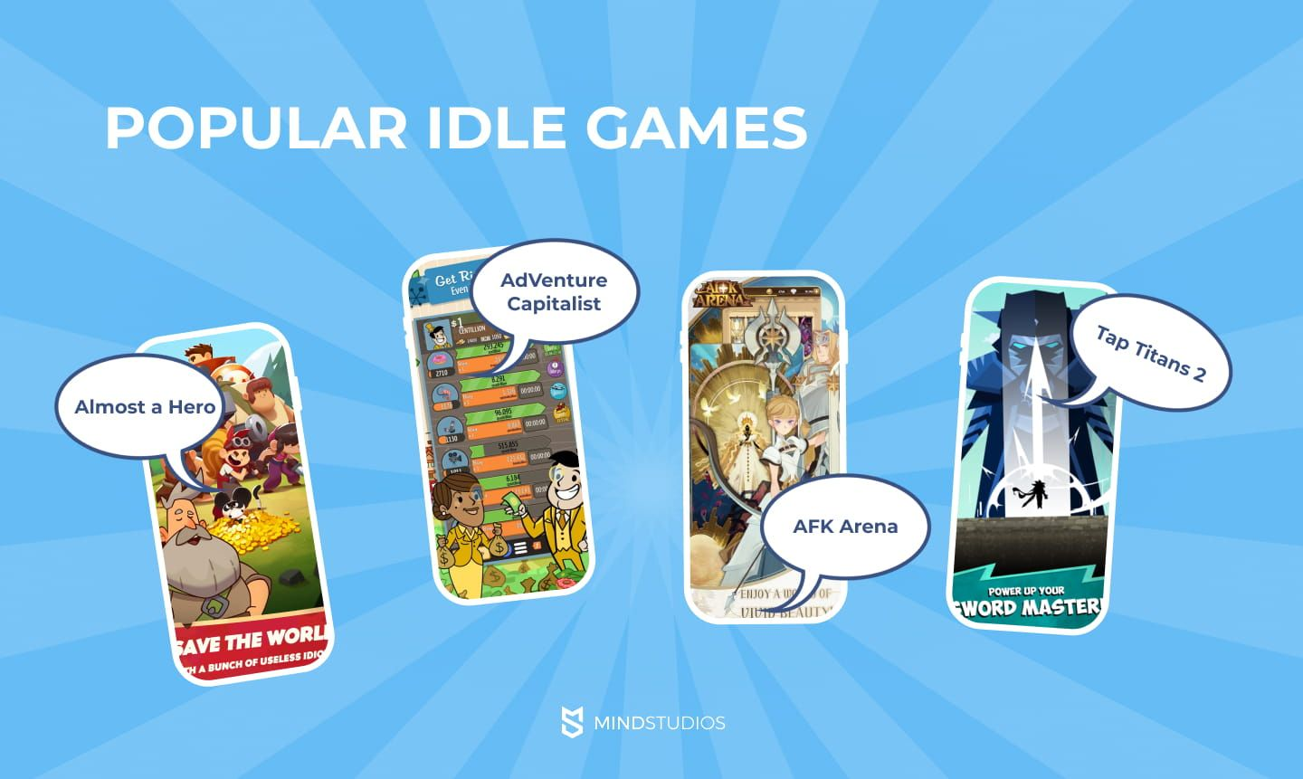 Popular idle games examples