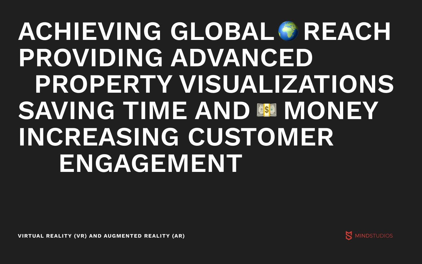 Virtual reality (VR) and augmented reality (AR) for real estate startups