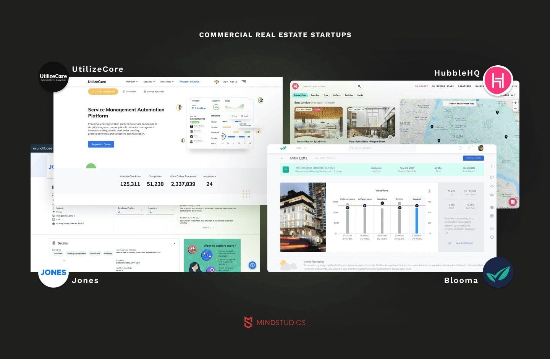 Commercial real estate startups