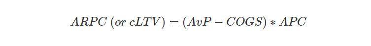 ARPC calculation formula