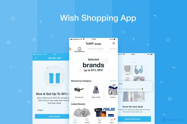 How Much Does It Cost to Build a Shopping App Like Wish?